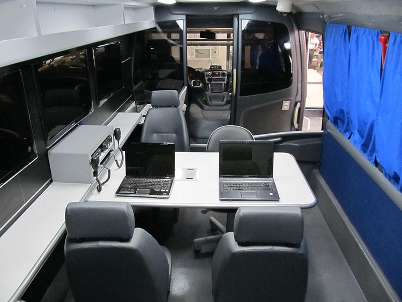 A Eco X transforma ônibus Força Nacional de Segurança Pública