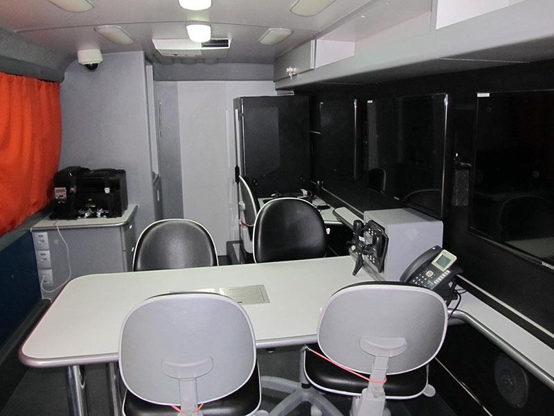 A Eco X transformou microônibus para Corpo de Bombeiros de Rondônia