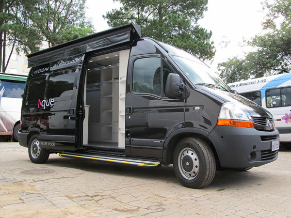 A Eco X transformou a Van para a Nanna Boutique