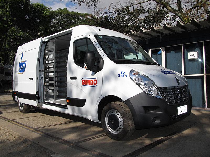 A Eco X transformou Van Renault Master para o Grupo Bimbo