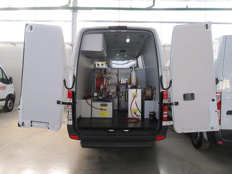 A Eco X transformou o veículo Mercedes-Benz Sprinter para a Baur