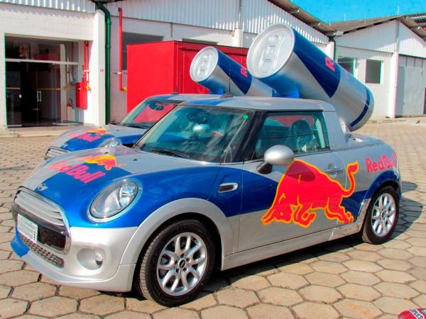 Unidade Promocional Mini Cooper Red Bull