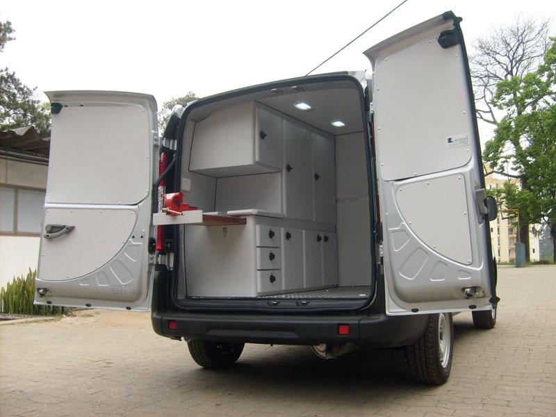 A Eco X transformou o veículo Fiat Doblo para a Taipas Tur