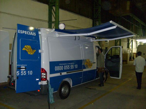 A Eco X transformou uma van Sprinter para a BIT Engenharia