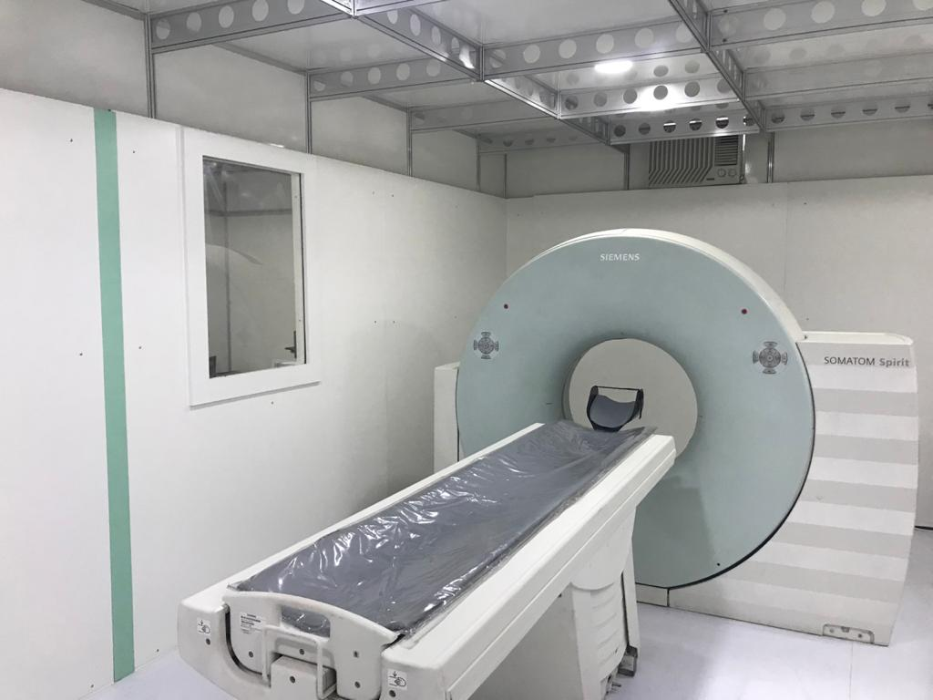 Unidade Móvel Tomografia - Fabricante Eco X
