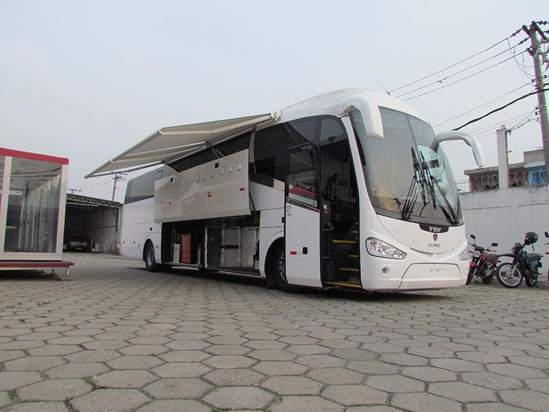 Unidade Ônibus Oficina Móvel Scania