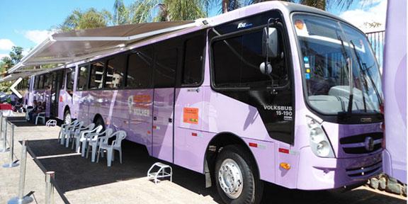 Unidades móveis iniciam atendimento às mulheres no dia 31 de Março