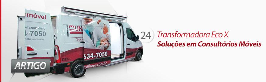 Transformadora de Veículos Eco X linha Consultórios Móveis