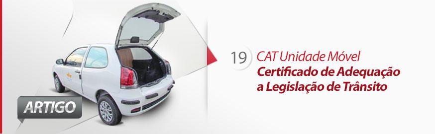 Veículos transformados pela Eco X atendem legislação do DENATRAN com emissão do CAT. Entenda.