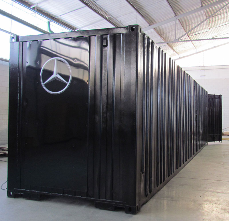 Unidade Oficina Móvel e Almoxarifado Mercedes Bens