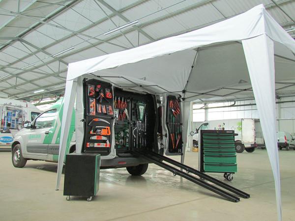 Eco X transforma Unidade móvel Fiat Fiorino Furgão para a Belzer®