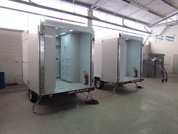 Eco X inova com conceito de trailer almoxarifado móvel