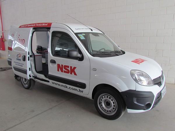 Unidade Móvel de Treinamento NSK