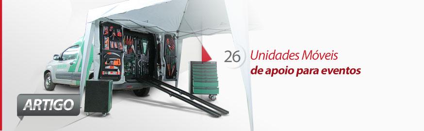 Eco X adapta unidades móveis de apoio para eventos
